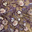 Thumbnail: Purple Hand Dyed Beaded Lace Off Cut #9065