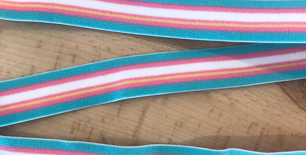Carnival stripe elastic