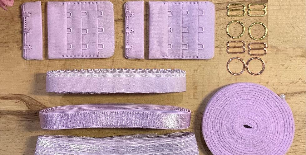 Lilac Wired Bra Trim Pack…