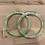 Thumbnail: Pair of Bag Handles Green Pearl