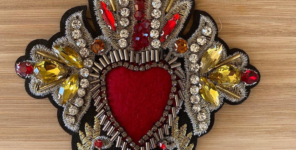 My sacred heart motif