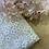 Thumbnail: Peach Blush Glitter Daisy Lingerie Tulle Small Cut...