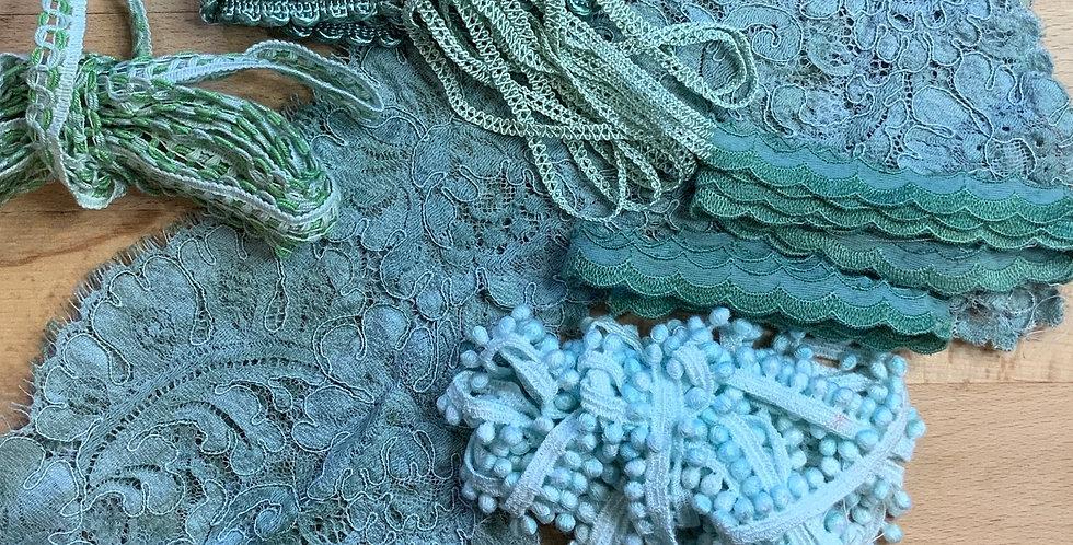 Assorted Seafoam Trims Pack...