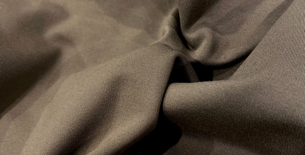 fawn ponte knit