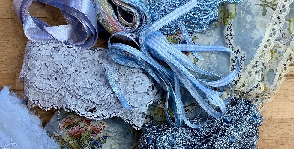 Assorted Blue Trims Pack...