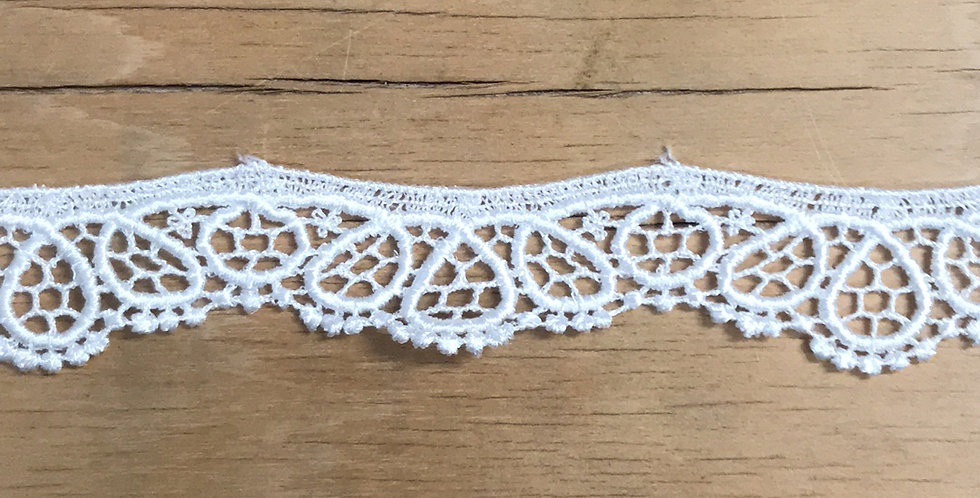 Dew drop lace