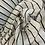 Thumbnail: Miami Stripes Micro Pleat Georgette