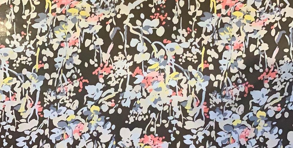 Pastel Garden Silk Chiffon ...