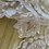 Thumbnail: Dusty pink corded beaded lace piece 8