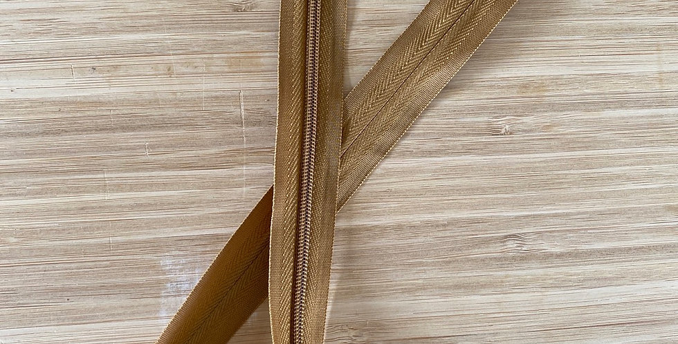 dark tan 55cm invisible zip