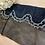 Thumbnail: Natalia Black Embroidered Silk Cotton Trim...