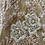Thumbnail: Dusty pink beaded lace piece 12