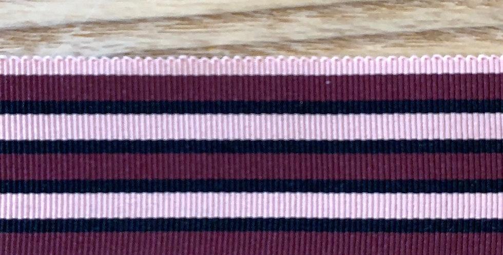 Designer Stripe Grosgrain Ribbon