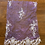 Thumbnail: Purple Hand Dyed Beaded Lace Off Cut #9067