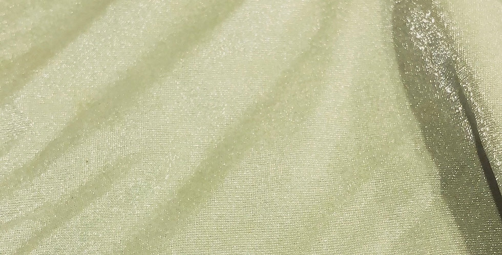 Avocado green crystal Lycra