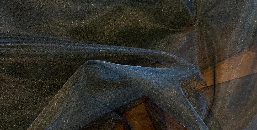 3mtr Bundle Black Polyester Organza