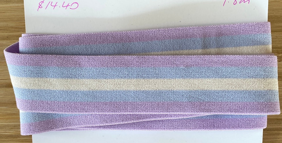 mauve stripe strapping remnant