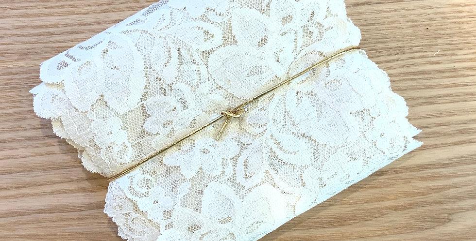 5mtr Bundle Wide Antique Cream Vintage Lace ...