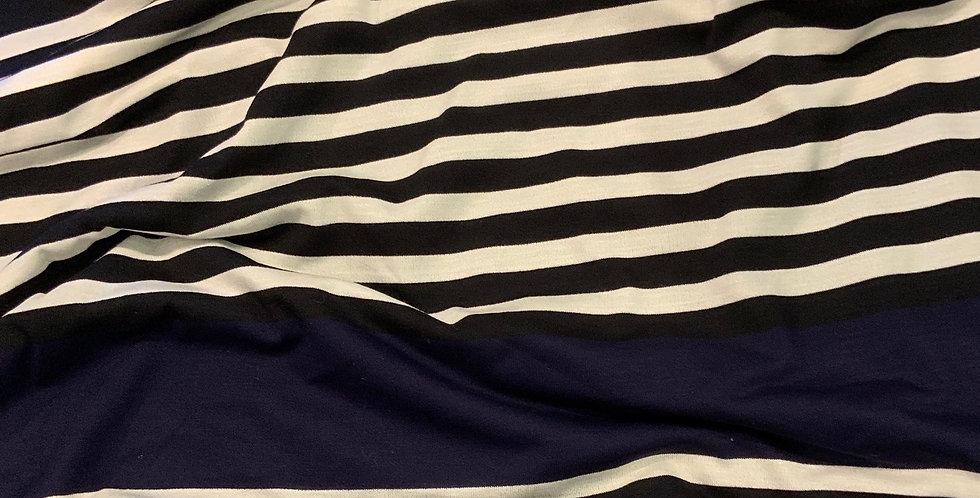 Monaco Lurex Stripe Knit Remnant...