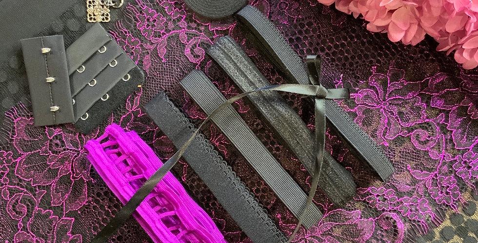 Poison  Metallic Wired Bra Kit...