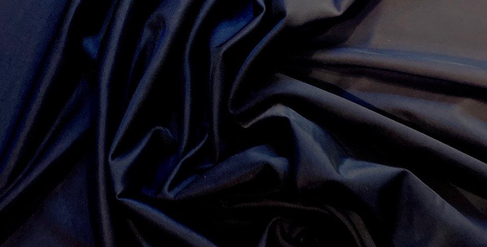 dark navy silk touch lingerie lycra