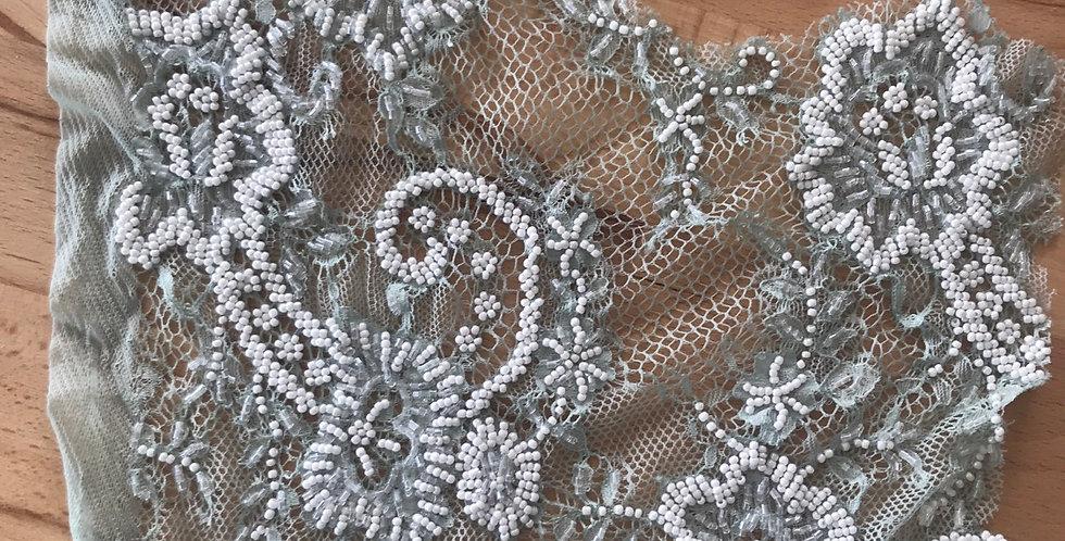 Seafoam lace piece #305
