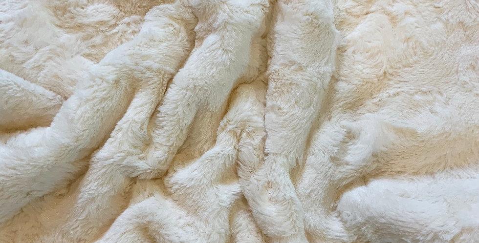Super Lightweight and Soft Ivory Fur Piece....