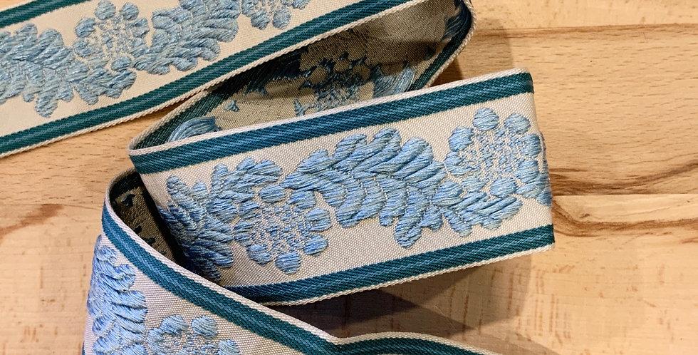 Ornate Embroidered Braid...