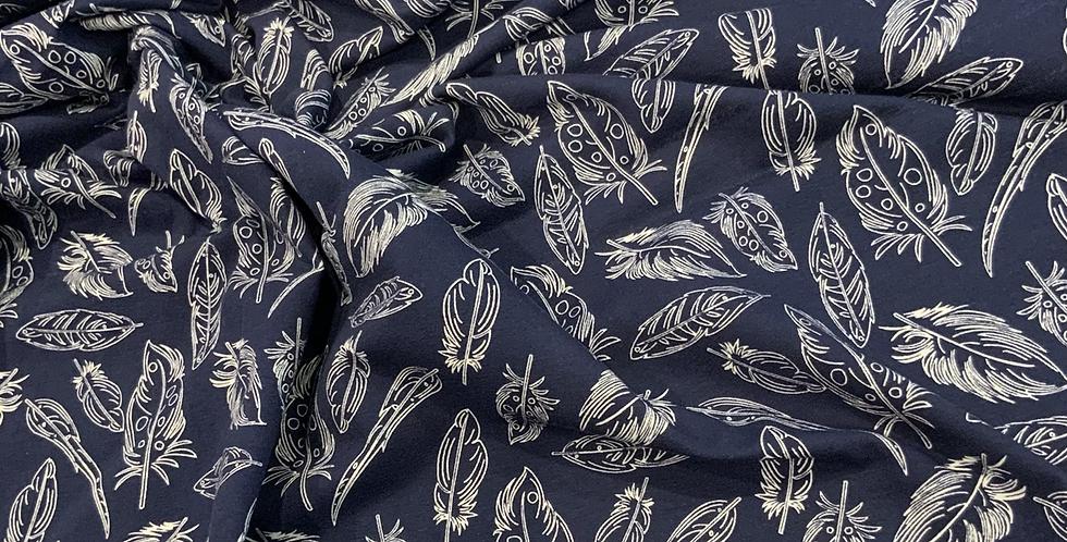 Art Gallery Fabrics PANACHE PROFUNDO Knit 50cm piece