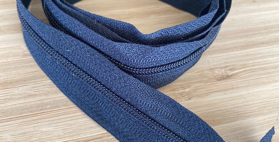 100cm black dress zip