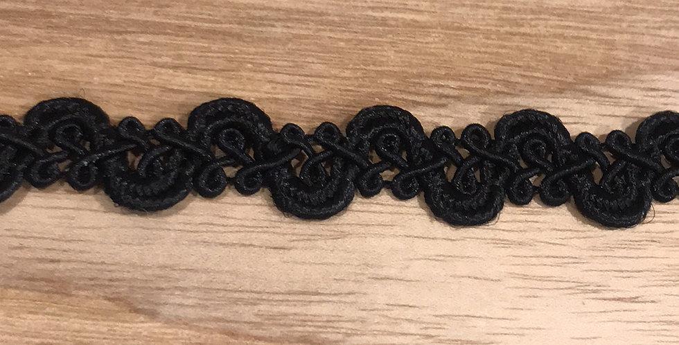 Riviera braid black