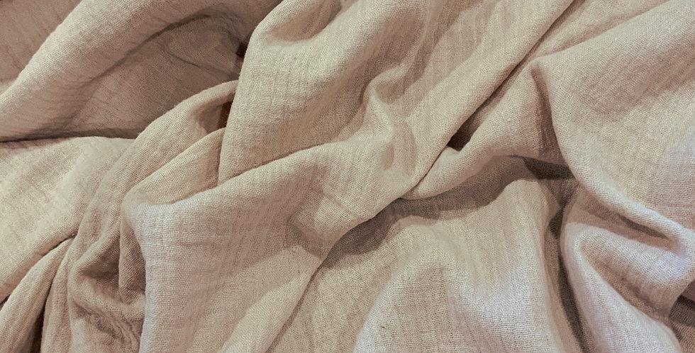Pale Mocha Organic Cotton Double Gauze...
