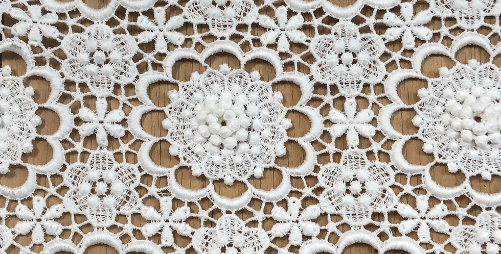 Pappillion Vintage Swiss Cotton Lace Trim