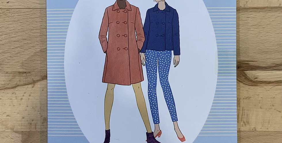 Sew Over It 1960's COAT Sewing Pattern...