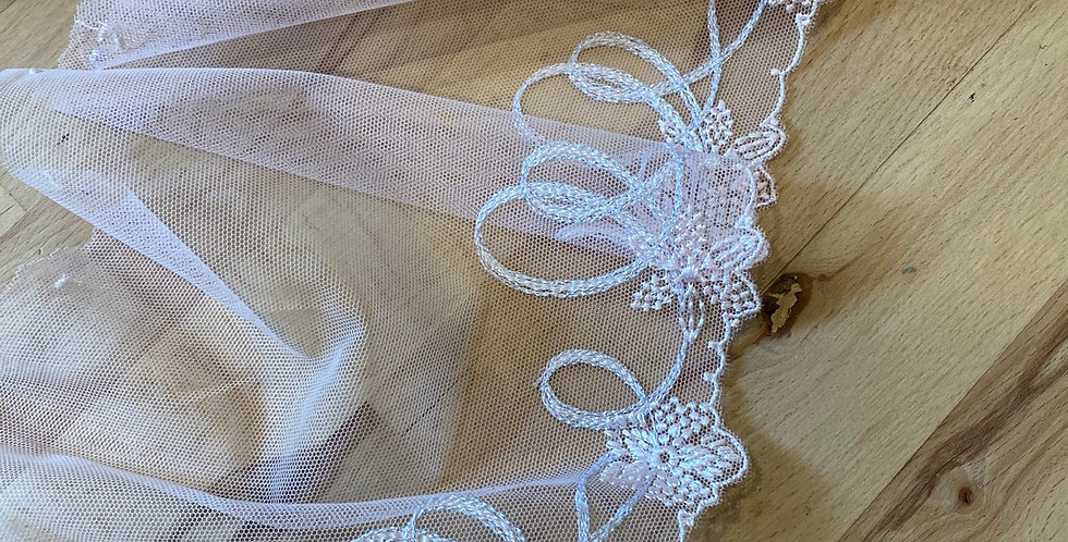 Lily embroidered trim