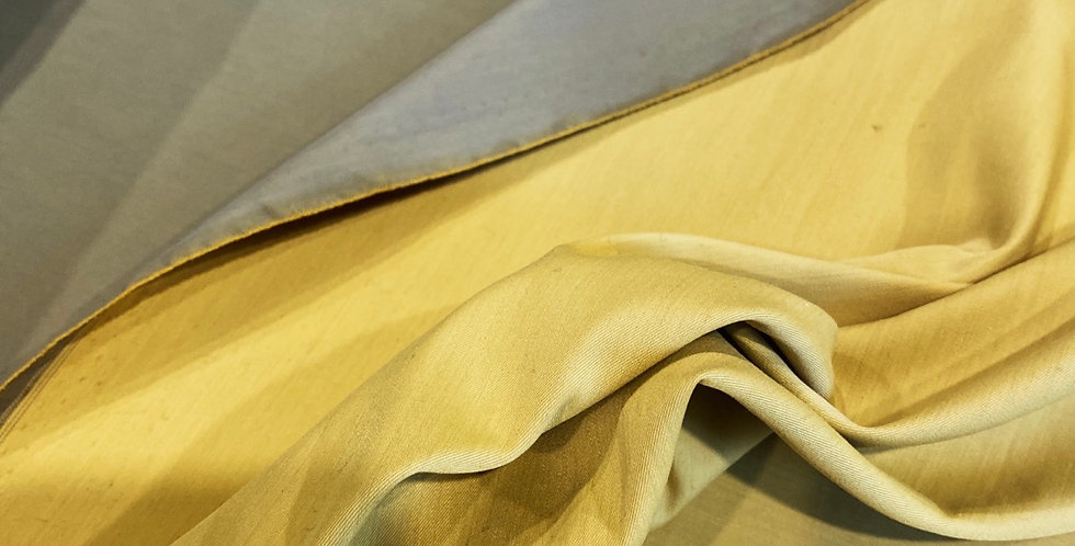daintree Reversible polished stretch cotton