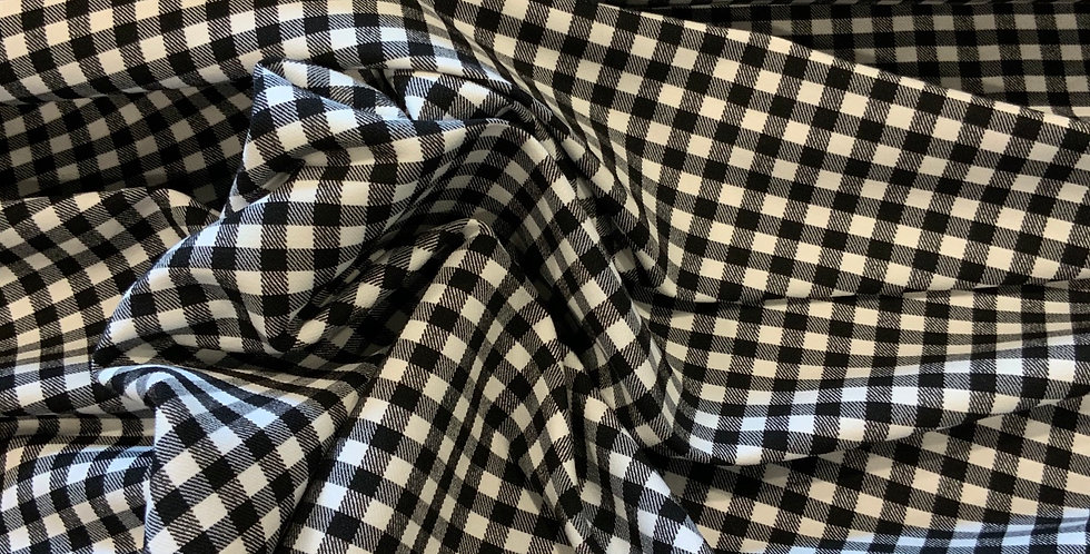 Monochrome Checkers Bengaline...
