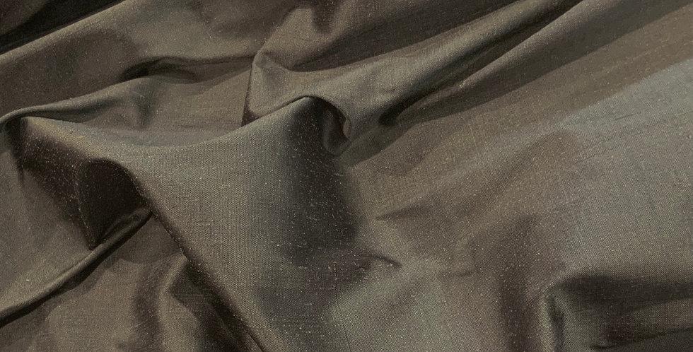 Steel Grey Silk Dupion