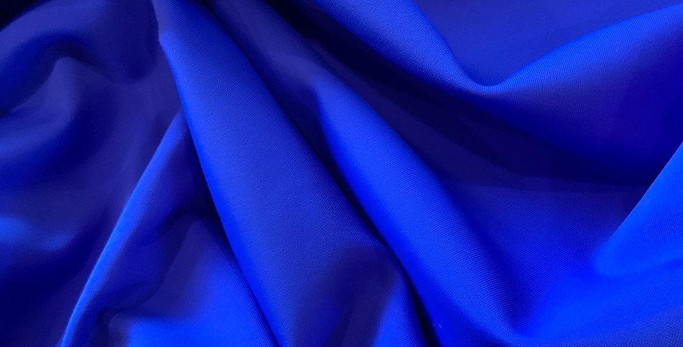 Cobolt Blue Smooth Matte Lycra remnant