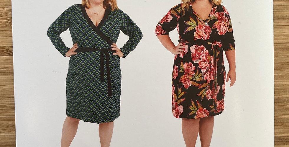 Cashmerette appleton dress printed pattern