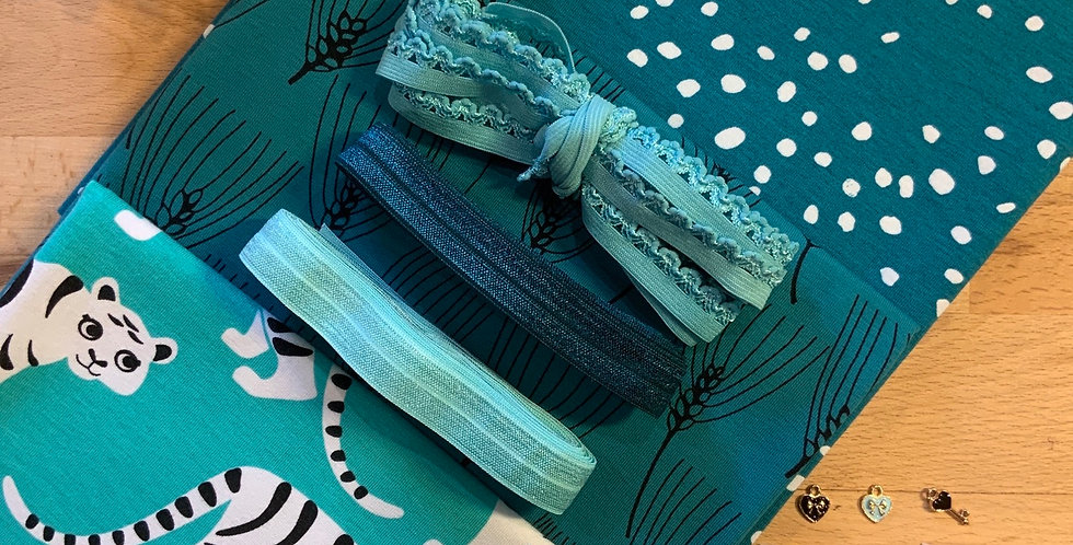 Paapii Turquoise  Tigers Knickers Kit…