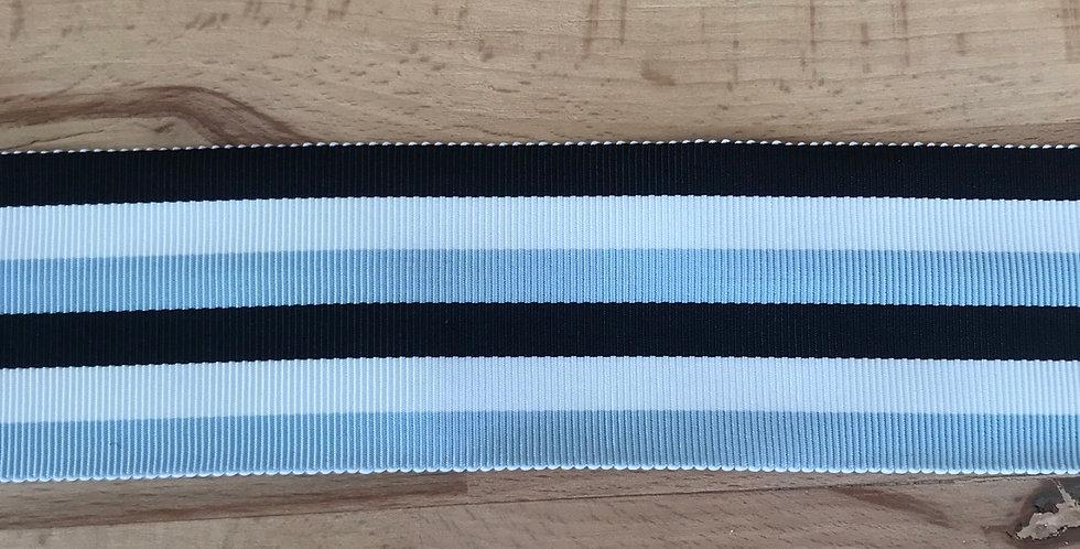 Canne stripe gros grain ribbon