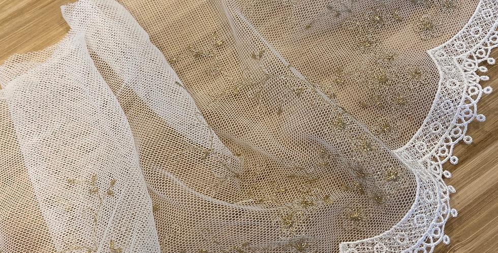 Mia embroidered mesh