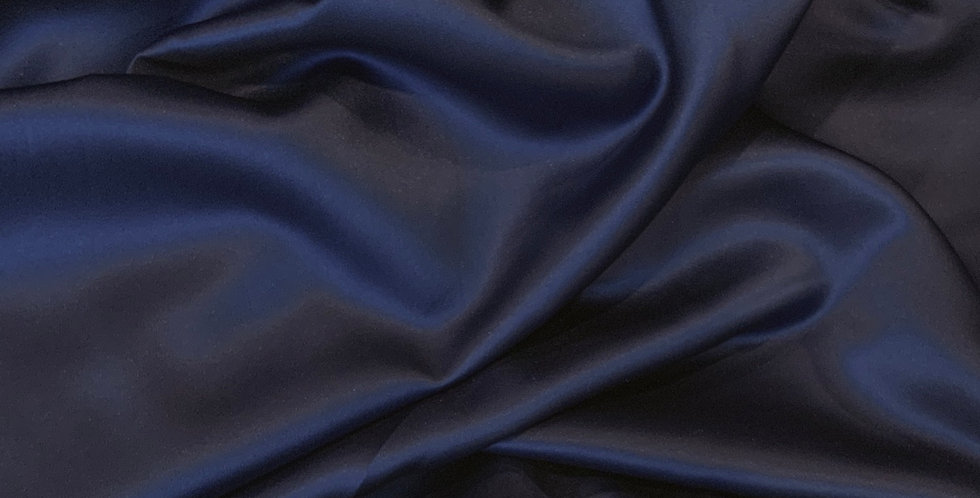 Navy Lightweight De Lustred Duchess Satin.....