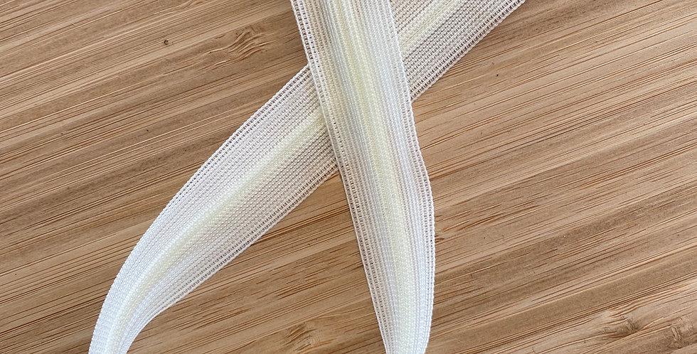 30cm cream invisible zip