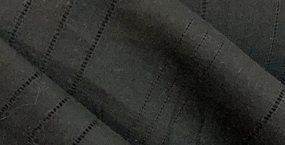 Black Stripes Linen....