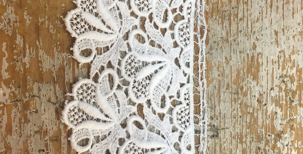 Verena Vintage Swiss Lace piece