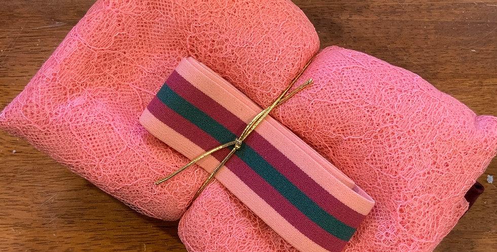 Coral Gathered Skirt Tutorial Kit...