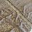 Thumbnail: Dark Mocha Hand Dyed Lace Off Cut #4034