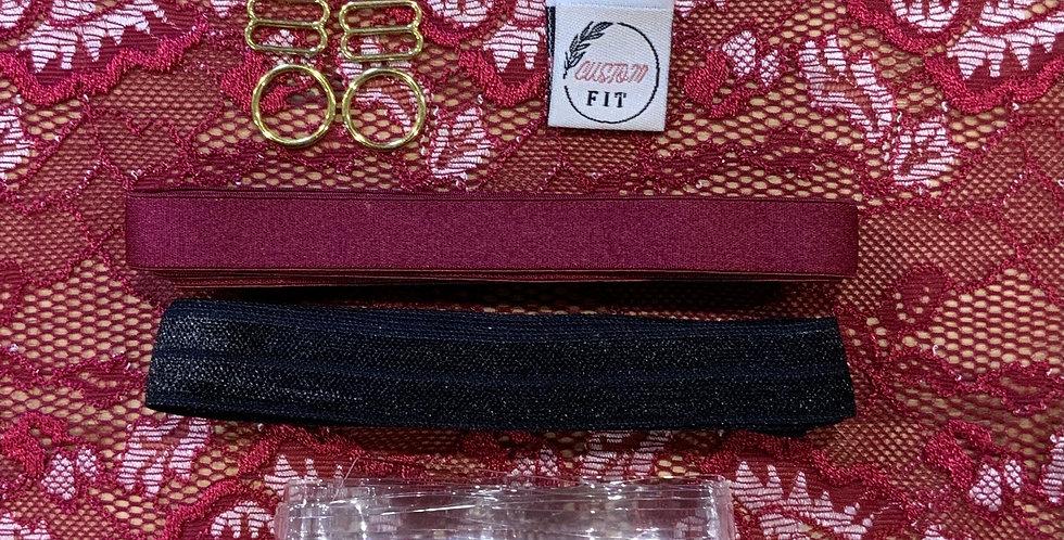 Ruby Bralette CLARET ROSE Kit…